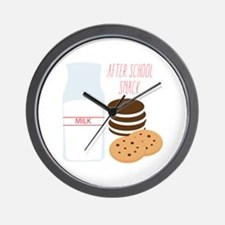 After School Snack Wall Clock