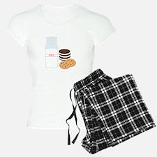 Cookies Milk Pajamas