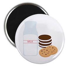 Cookies Milk Magnets