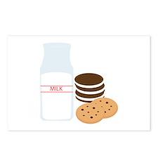 Cookies Milk Postcards (Package of 8)