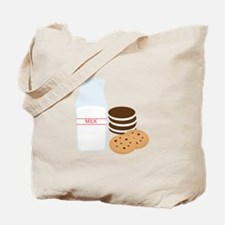 Cookies Milk Tote Bag