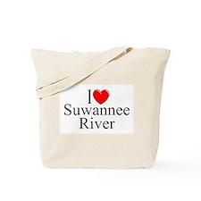 """""""I Love Suwannee River"""" Tote Bag"""
