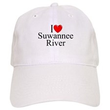 """""""I Love Suwannee River"""" Baseball Cap"""