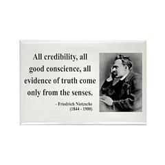 Nietzsche 27 Rectangle Magnet (100 pack)