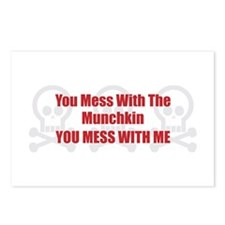 Mess With Munchkin Postcards (Package of 8)
