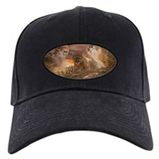 Mountain Lion Collage Black Cap