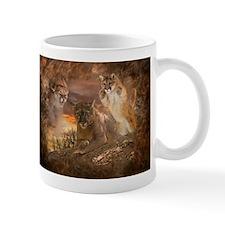 Mountain Lion Collage Mug