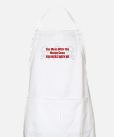 Mess With Maine Coon BBQ Apron