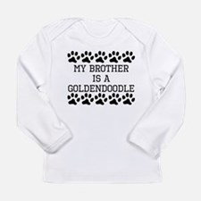 My Brother Is A Goldendoodle Long Sleeve T-Shirt