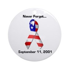 Never Forget Ornament (Round)