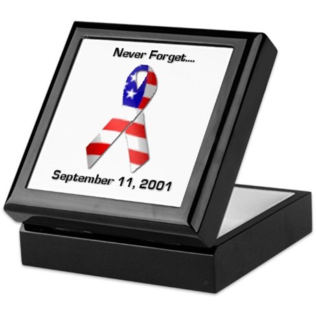 Never Forget Keepsake Box