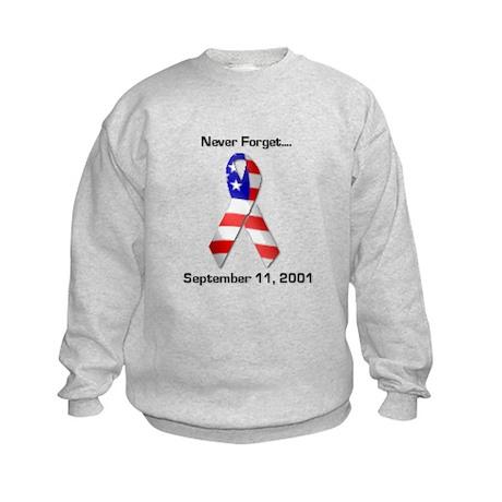Never Forget Kids Sweatshirt