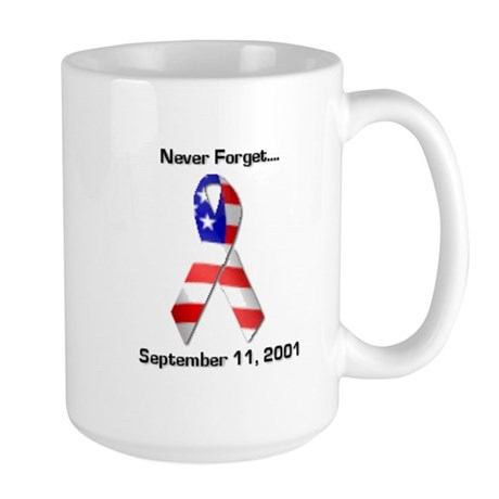 Never Forget Large Mug