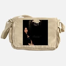 Girl in the Dark Messenger Bag