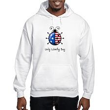 USA Ladybug Hoodie