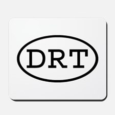 DRT Oval Mousepad