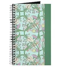 Darkest Vintage Flowers Journal