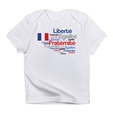 French Liberty Bastille Day Infant T-Shirt