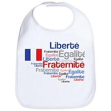 French Liberty Bastille Day Bib