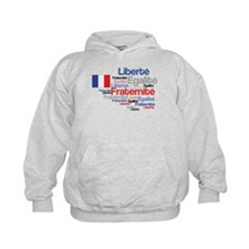 French Liberty Bastille Day Hoody