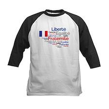 French Liberty Bastille Day Baseball Jersey