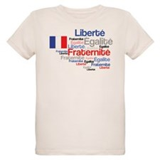 French Liberty Bastille Day T-Shirt