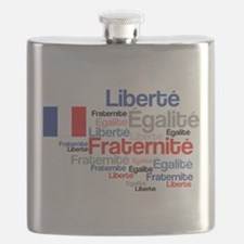 French Liberty Bastille Day Flask