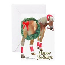 Unique Percheron horse draft harness color Greeting Cards (Pk of 20)