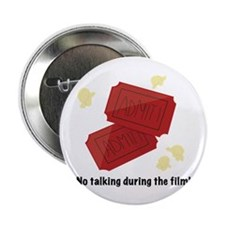 "No Talking 2.25"" Button (100 pack)"
