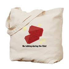 No Talking Tote Bag