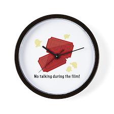 No Talking Wall Clock