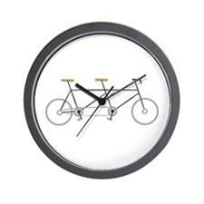Tandem Bike Wall Clock