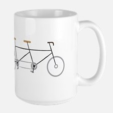 Tandem Bike Mugs
