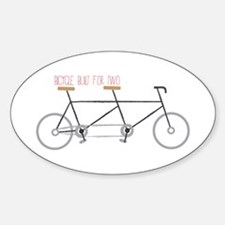 Bicycle for Two Decal
