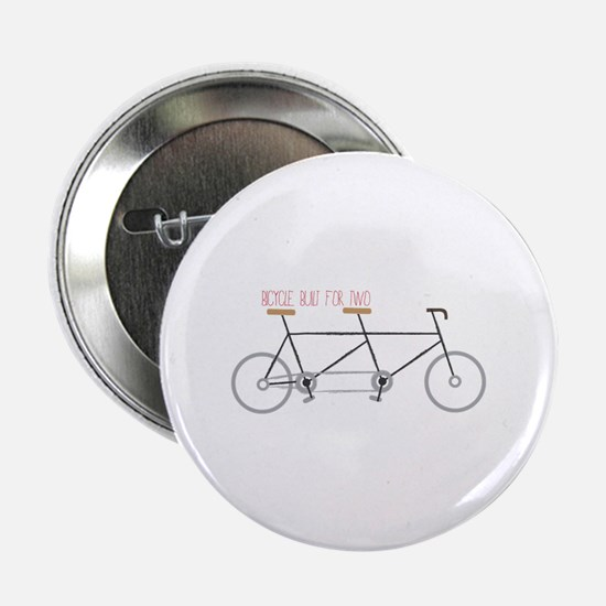 """Bicycle for Two 2.25"""" Button (10 pack)"""