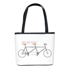 Bicycle for Two Bucket Bag