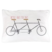 Bicycle for Two Pillow Case