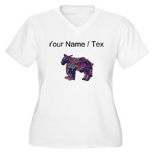 Swedish Lapphund (Custom) Plus Size T-Shirt