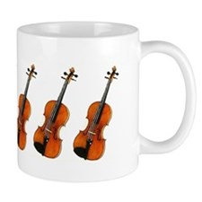 Violin Fiddle Violins! Fiddles! Small Mugs
