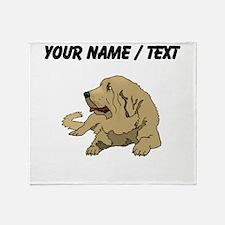 Spanish Mastiff (Custom) Throw Blanket