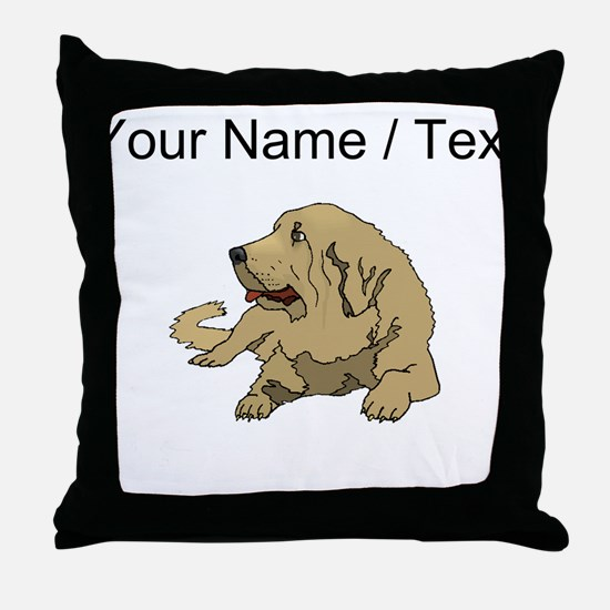 Spanish Mastiff (Custom) Throw Pillow