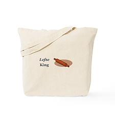 Lefse King Tote Bag