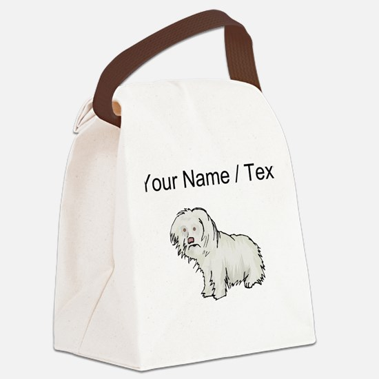 Spanish Water Dog (Custom) Canvas Lunch Bag