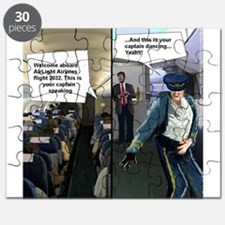 Hipster Airline Pilot Puzzle