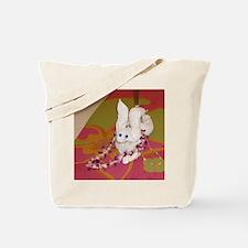 Rabbit towel Tote Bag