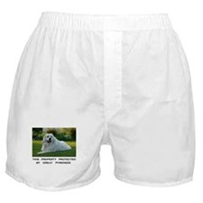 Great Pyrenees Sign Boxer Shorts