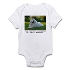 Great Pyrenees Sign Body Suit
