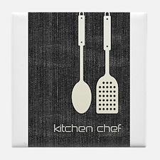 Cool Kitchen Foodie Tile Coaster