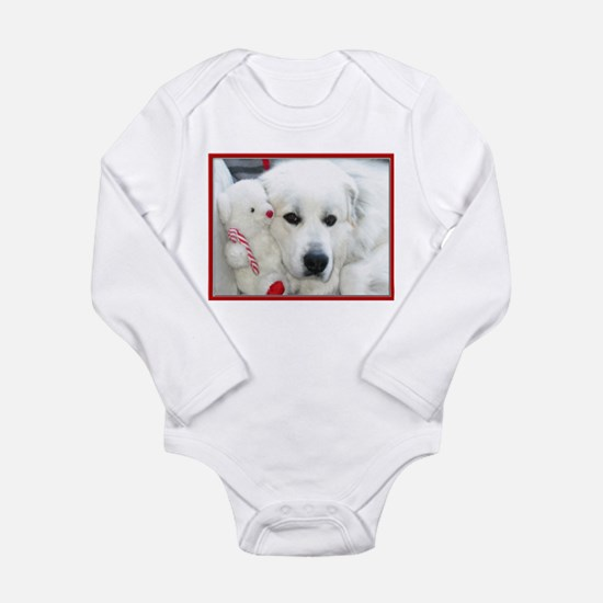 great pyrenees with teddy bear Body Suit