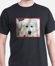 great pyrenees with teddy bear T-Shirt